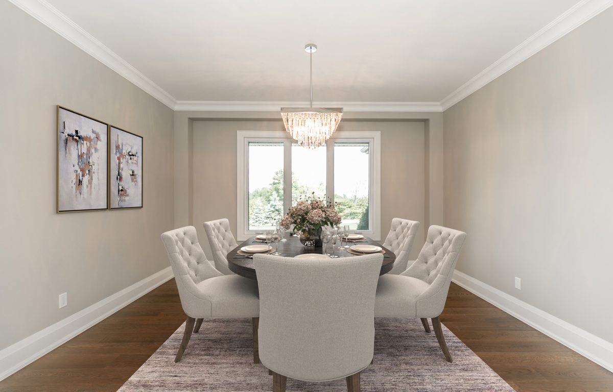 After Virtual Staging Dining Room