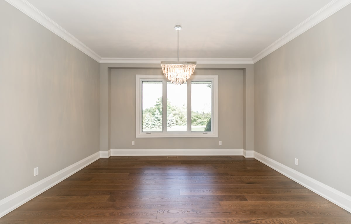 Before Virtual Staging Dining Room
